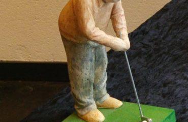 Hans baten golfer