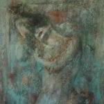 Face the new day (acryl op doek 70 x 90 cm)